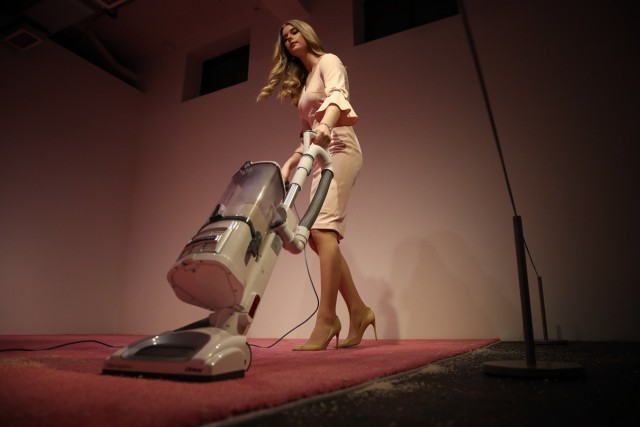 'Ivanka Vacuuming' Art Installation Causes Controversy