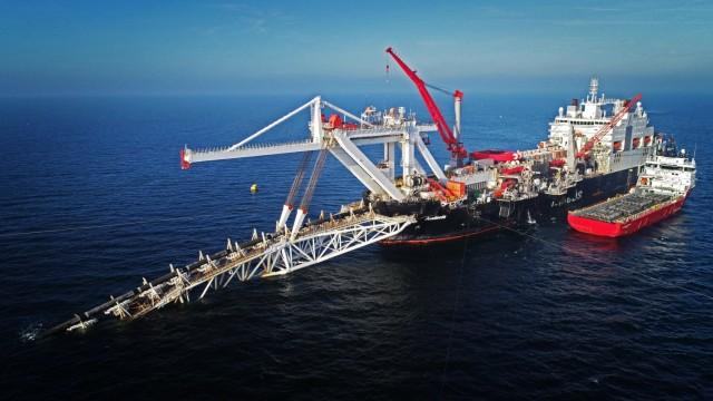 Nord Stream 2 Verlegeschiff
