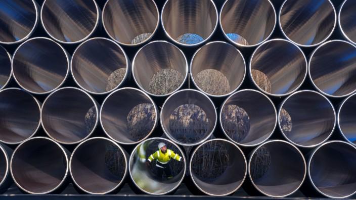 Nord Stream 2 Rohre
