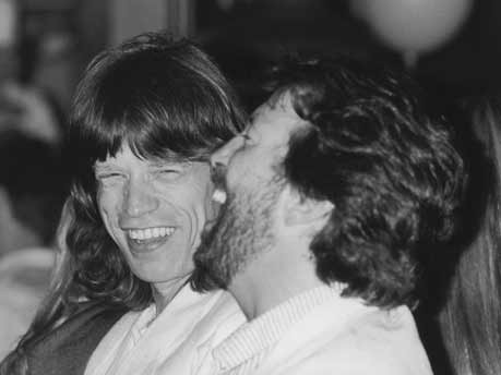 Mick Jagger, Eric Clapton, Getty Images