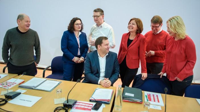SPD-Spitze geht in Klausur