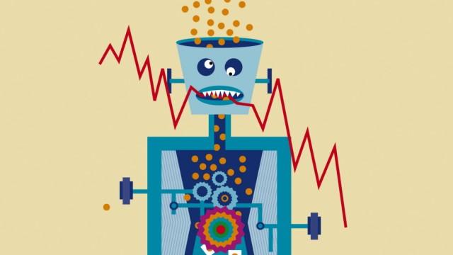 Roboter Geldanlage