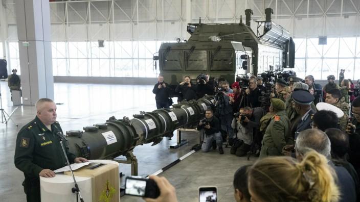 Neue Mittelstreckenrakete aus Russland