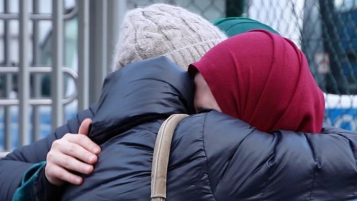 Die frühere IS-Anhängerin Fatima M. bei ihrer Rückkehr nach Deutschland