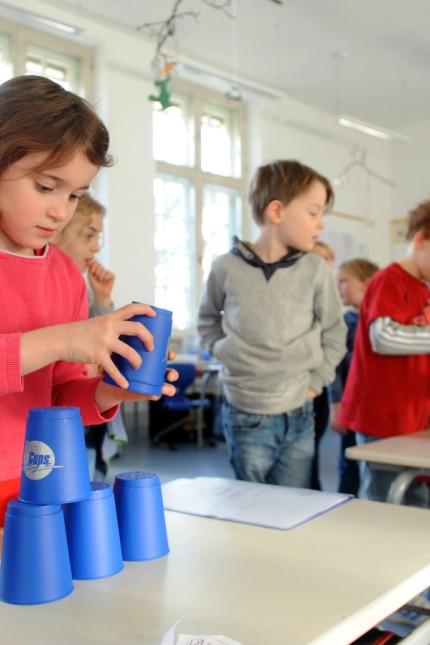 Bildung: An der Klenzeschule trainieren die Kinder ihr Gehirn und ihre Muskeln gleichermaßen.