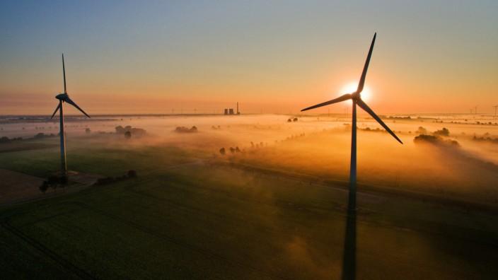 Windräder in Niedersachsen