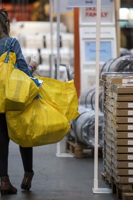 Inside An IKEA AB Store Ahead Of Business Inventories Figures