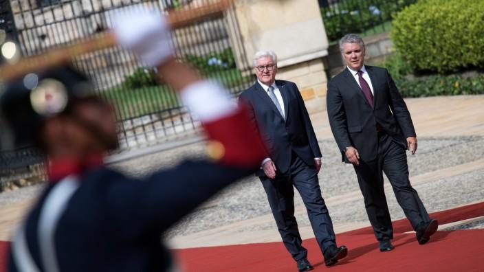 Bundespräsident Steinmeier in Kolumbien