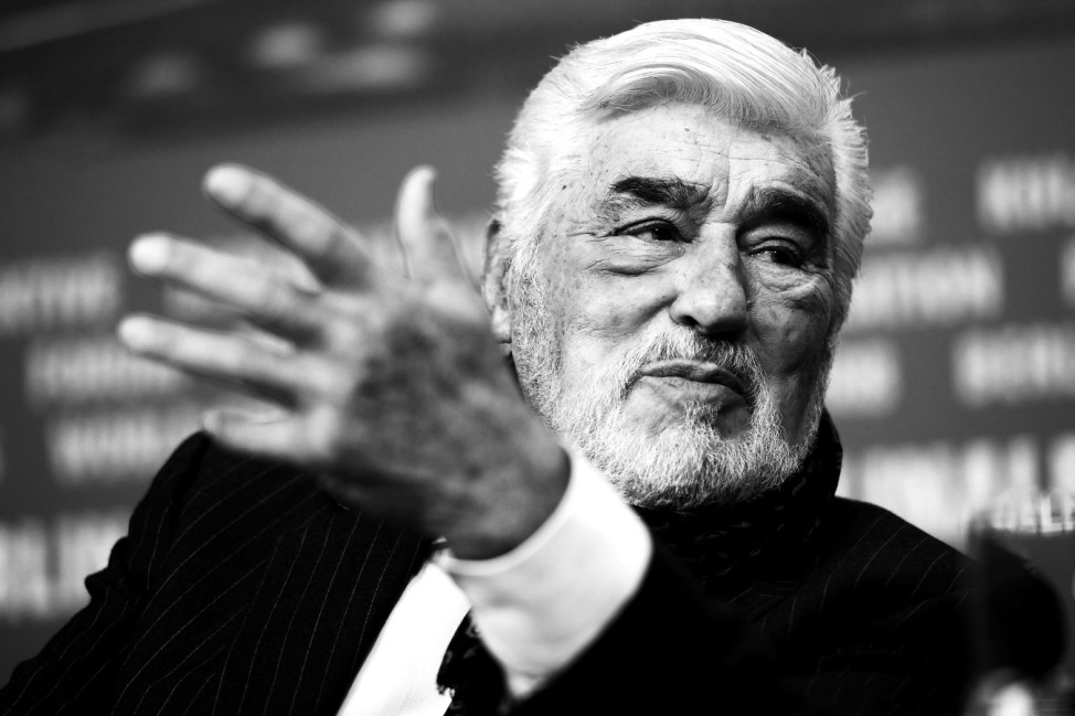 'It Could Have Been Worse  Mario Adorf' Press Conference - 69th Berlinale International Film Festival
