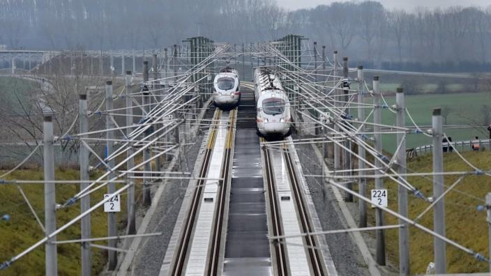 Schnellfahrstrecke zwischen Erfurt und Halle/Leipzig 2015 eröffnet