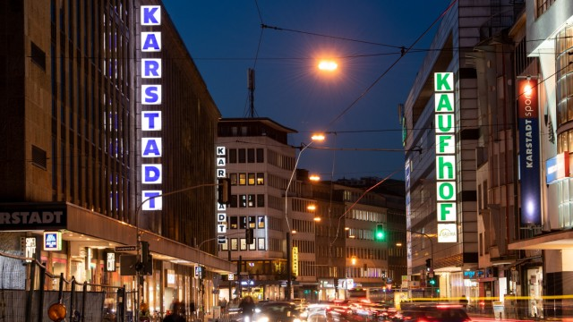 Karstadt und Kaufhof