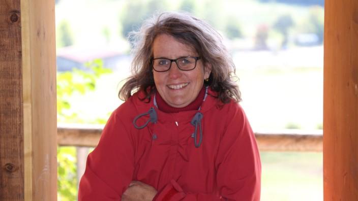 Martina Weiger. Sie ist Erzählerin der Märchenreise Grafrath.