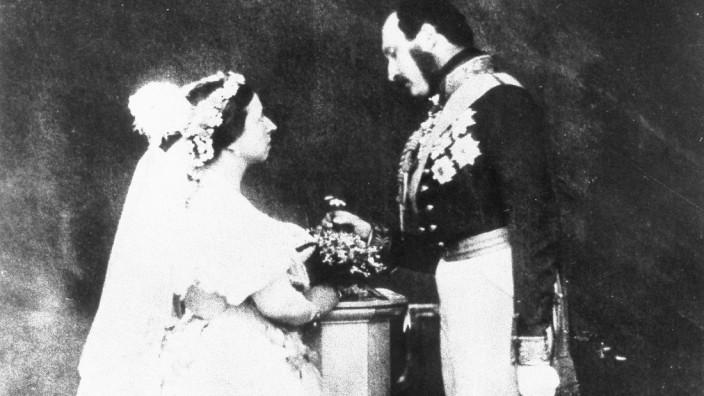 Königin Viktoria von England und Prinz Albert, 1854