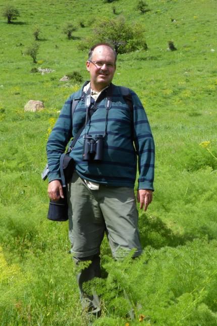 Vögel im Landschaftspark Unterhaching; Fotograf und Vogelbeobachter Markus Dähne,