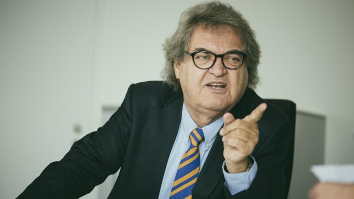München, Redaktion Focus, Helmut Markwort,,