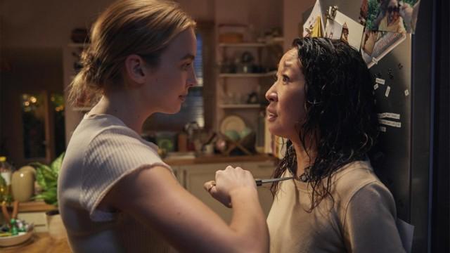 "Jodie Comer und Sandra Oh in ""Killing Eve"""