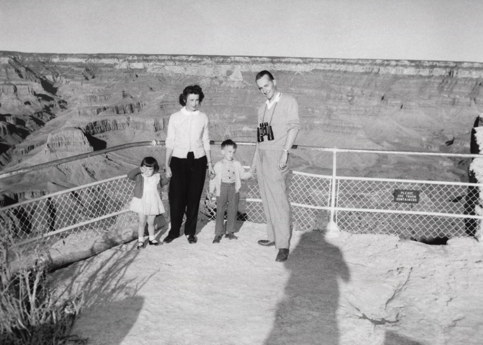 Grand Canyon Millionsten Besucher 1956