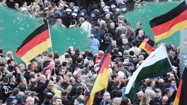 Demonstrationen in Chemnitz