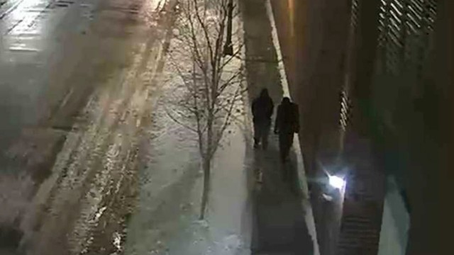 FILE PHOTO: Handout photo of two persons of interest are shown in the area where 'Empire' actor Jussie Smollett was assaulted in Chicago