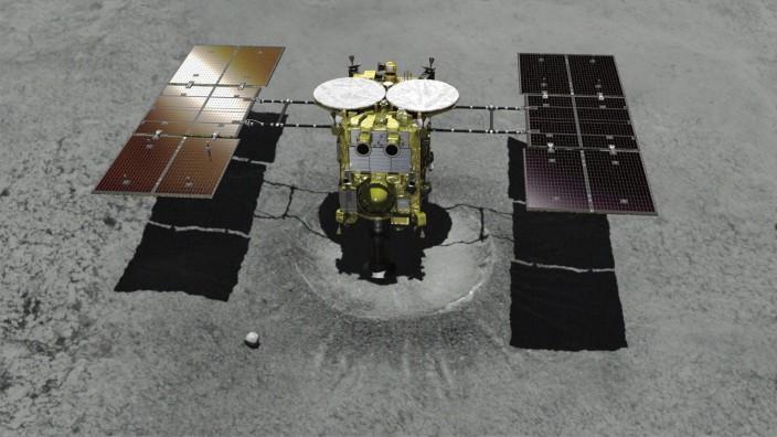Raumsonde nähert sich Asteroiden