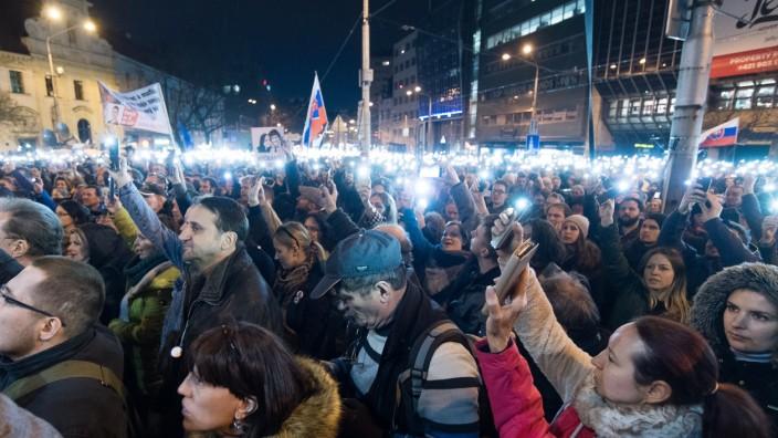 Slovakia Commemorates Jan Kuciak Murder First Anniversary