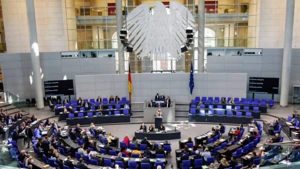 Bundestagssitzung Deutschland Berlin 22 02 2019 84 Sitzung des deutschen Bundestages am 22 Feb