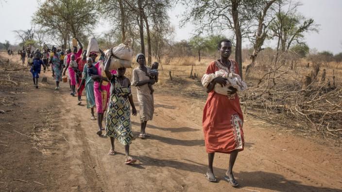 Hungersnot in Südsudan: Trotz des reichen Ölvorkommens ist der Südsudan einges der ärmsten Länder der Welt.