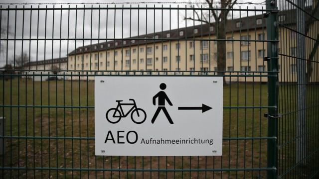 Ankerzentrum für Flüchtlinge in Bamberg