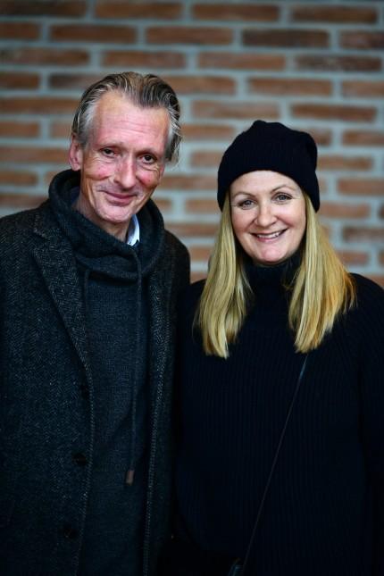"Chor-Aktion: ""Keine Grenzen"" - Olav Hain, 55, u. Melanie Zuzan, 50."
