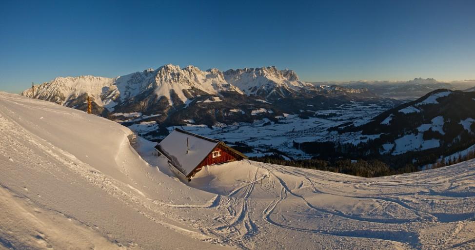 Wilder Kaiser Brixental Söll Österreich Ski Skifahren Skigebiet