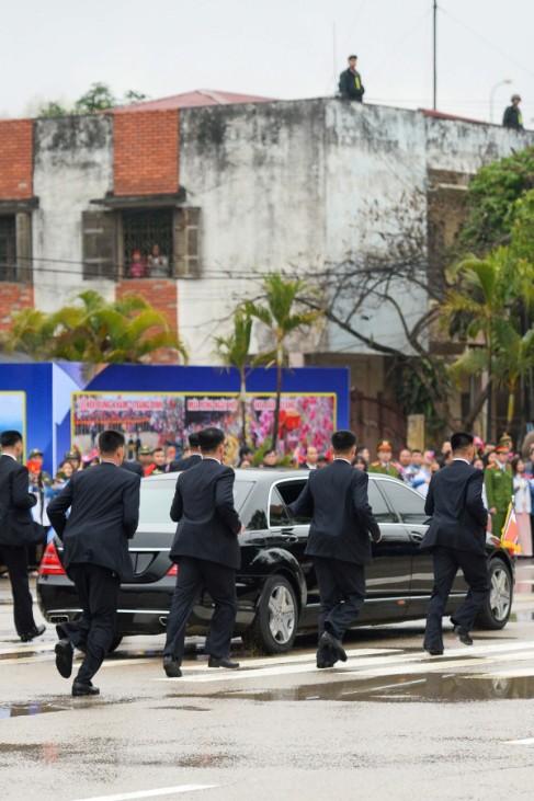 Kim Jong-un Hanoi