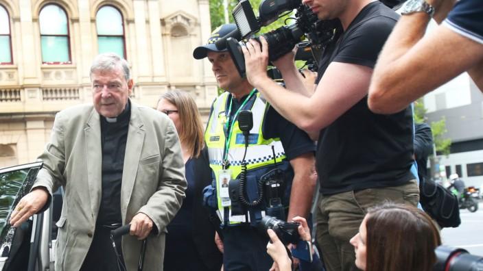 Australien George Pell Journalisten Nachrichtensperre