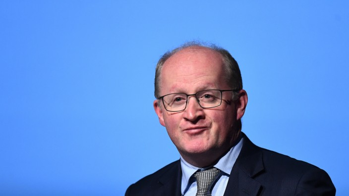 Governor of the Central Bank of Ireland Philip Lane speaks at a European Financial Forum event in Dublin