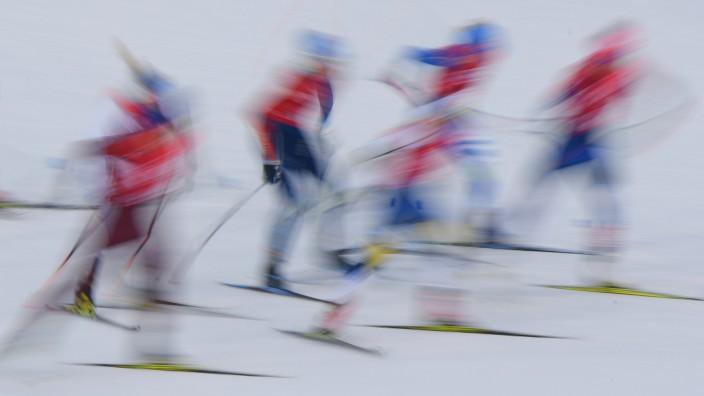 Ski-Langlauf bei den Olympischen Spielen 2018 in Pyeongchang