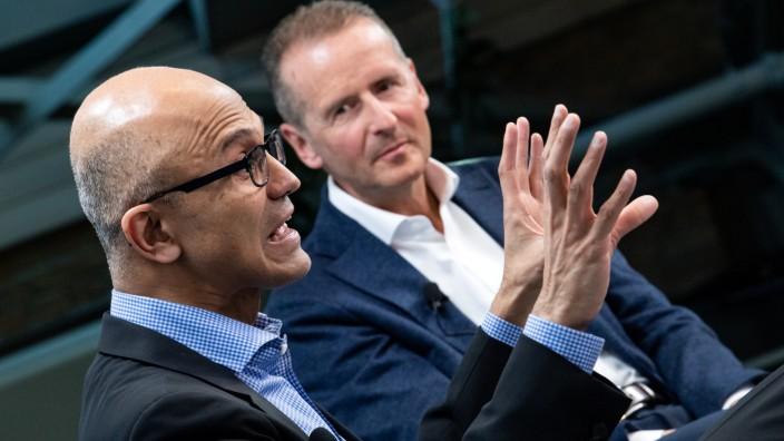 VW und Microsoft planen vernetzte Fahrzeugdienste
