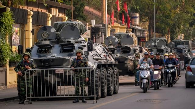 U.S. President Trump And North Korean Leader Kim Jong-un Scheduled To Meet Hanoi