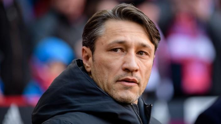 FC Bayern München - Trainer Niko Kovac beim Bundesliga-Spiel gegen Hertha BSC
