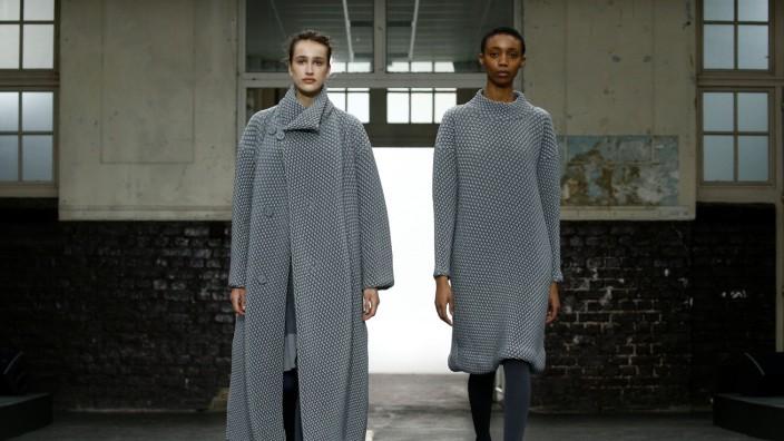 Issey Miyake show at Paris Fashion Week
