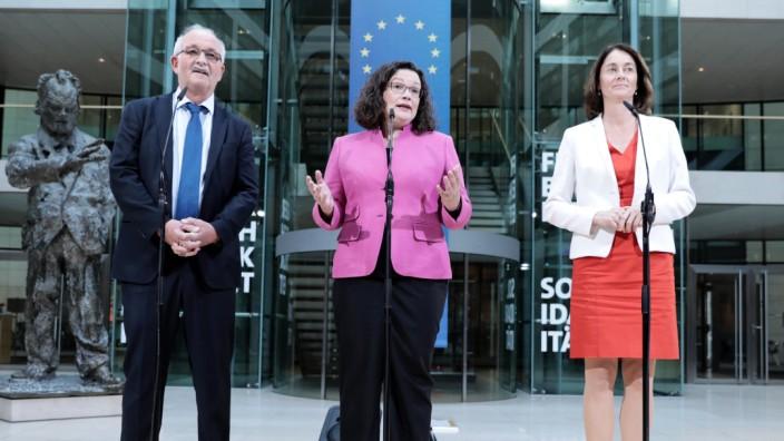 Vorstellung SPD Spitzenkandidatin zur Europawahl 2019