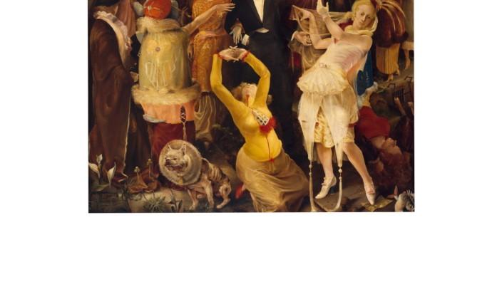 """Kunst: So vielfältig wie """"Das Junge Rheinland"""" war, muss man sich nicht über den Streit wundern, sondern darüber, wie lange die Gruppe bestand: Gert Wollheims """"Abschied von Düsseldorf"""" (1924)."""