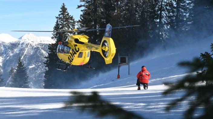 Bergwacht in Garmisch-Partenkirchen im Einsatz