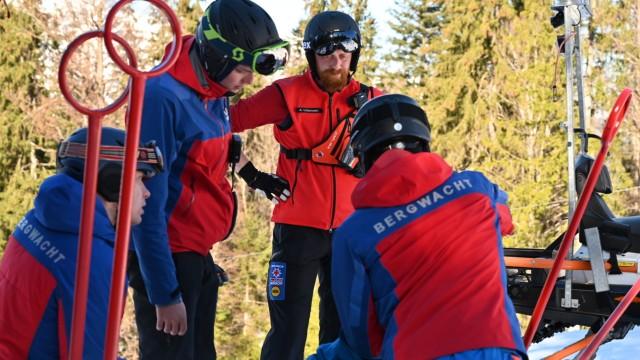 Bergwachteinsatz in Garmisch-Classic