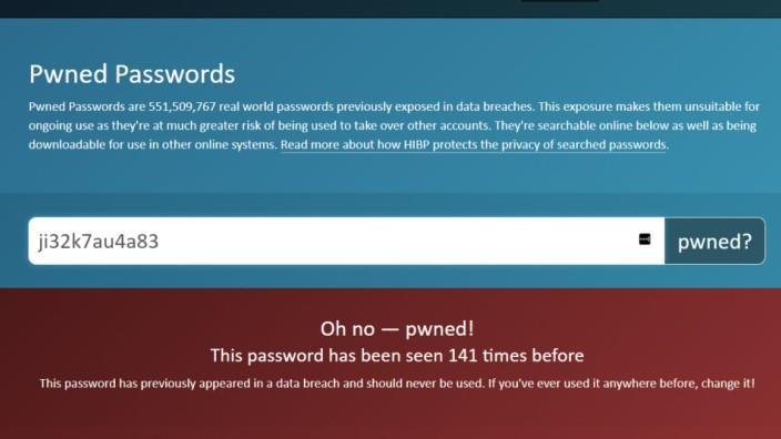 Passwort IT-Sicherheit