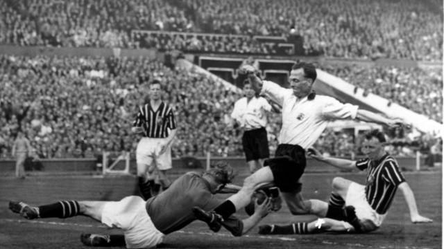 Wembley Stadion - Bert Trautmann