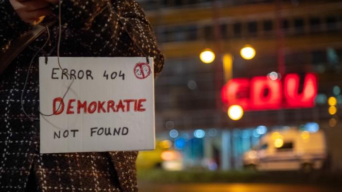 Demonstration gegen EU-Urheberrechtsreform