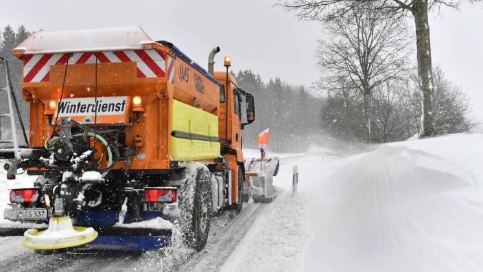Andechs Machtlfing Schneemassen