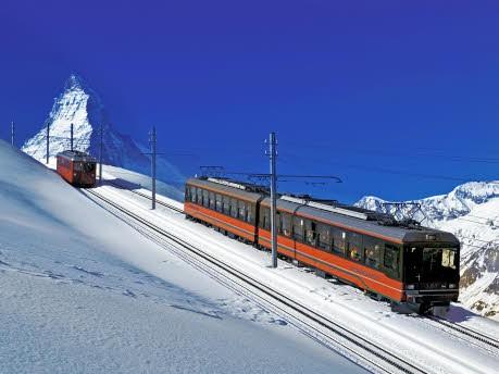 Monte Rosa Hütte Zermatt Schweiz, Switzerland Tourismus/Christof Sonderegger/dpa