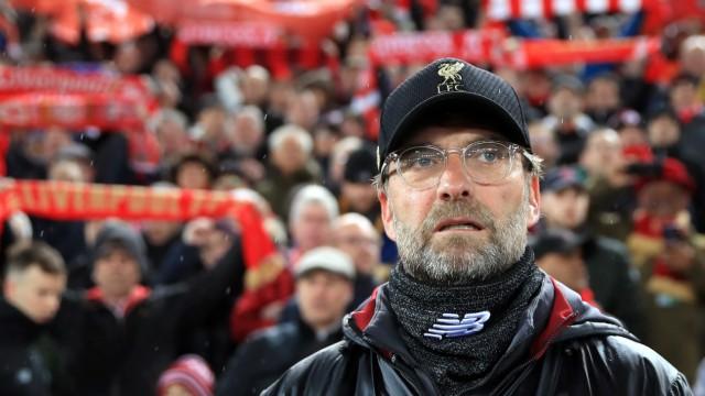 Jürgen Klopp vor dem Spiel FC Liverpool gegen Bayern München