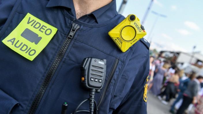 Bayernweite Einführung von Bodycams bei der Polizei