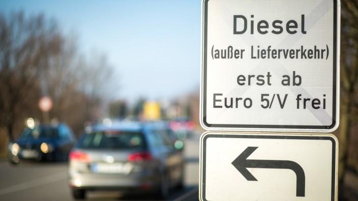 Diesel-Fahrverbote in Stuttgart